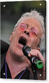 Dicey Riley Frontman Acrylic Print by Mike Martin