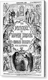 Dickens: Edwin Drood Acrylic Print by Granger