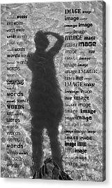 Diction Acrylic Print by Betsy C Knapp