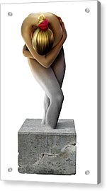 Disability, Conceptual Image Acrylic Print by Smetek