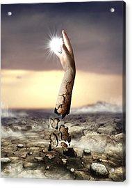 Divine Touch  Acrylic Print by Mariusz Zawadzki