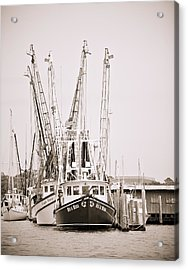 Docked Acrylic Print by Donni Mac