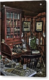 Doctor's Office Acrylic Print by Susan Candelario