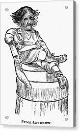 Dog-faced Boy, 1874 Acrylic Print by Granger
