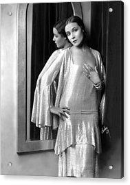 Dolores Del Rio, 1929 Acrylic Print by Everett