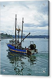 Done For The Day Acrylic Print by Methune Hively