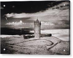Doonagore Tower Acrylic Print by Simon Marsden