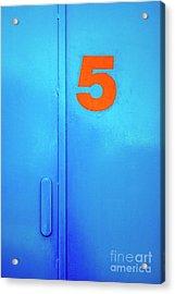 Door Five Acrylic Print by Carlos Caetano
