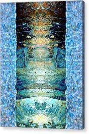 Door To Fantasy Acrylic Print by Marcia Lee Jones