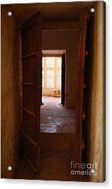 Doorway Acrylic Print by Jen Bodendorfer