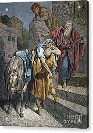 Dore: Good Samaritan Acrylic Print by Granger
