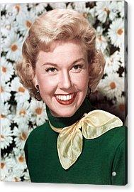 Doris Day, Circa 1950s Acrylic Print by Everett