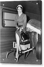 Dorothy Dandridge 1922-1965 Acrylic Print by Everett