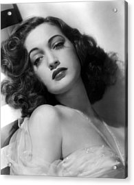 Dorothy Lamour, Paramount Pictures, 1943 Acrylic Print by Everett