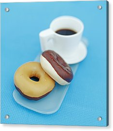 Doughnuts Acrylic Print by David Munns