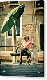 Down Time Acrylic Print by Marion Galt