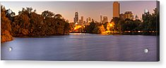 Downtown Chicago From Lincoln Park Acrylic Print by Twenty Two North Photography