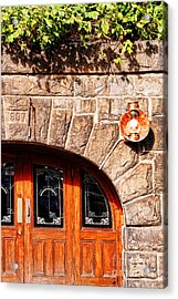 Downtown Northampton - Tunnel Bar Acrylic Print by HD Connelly