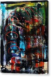 Downwards Acrylic Print by Terrance Prysiazniuk