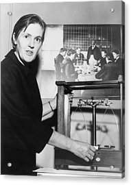 Dr. Frances Oldham Kelsey Acrylic Print by Everett