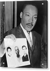 Dr. Martin Luther King 1929-1968 Acrylic Print by Everett
