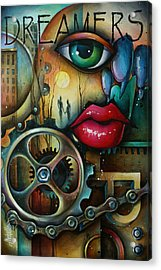 Dreamers 3 Acrylic Print by Michael Lang