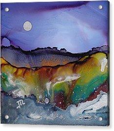 Dreamscape No. 85 Acrylic Print by June Rollins