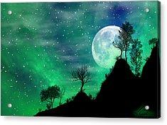Dreamy Night Acrylic Print by Anthony Citro