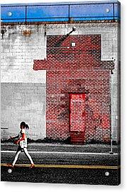 Drive Acrylic Print by Skip Hunt