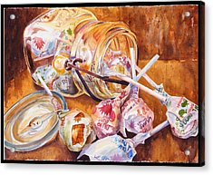 Dum Dum Thief Acrylic Print by Jami Childers