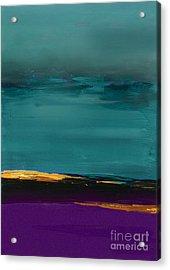 Dunes - Abstract Landscape Acrylic Print by VIAINA Visual Artist