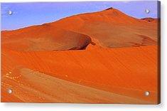 Dunes Acrylic Print by Len Combrinck