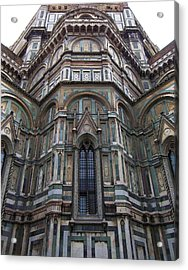 Duomo Florence Italy Acrylic Print by Micheal Jones