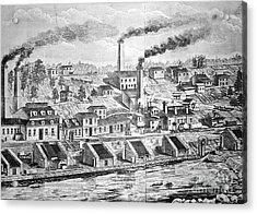 Dupont Powder Mill, 1854 Acrylic Print by Granger