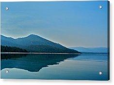 Eagle Lake Blues Acrylic Print by Kirsten Giving
