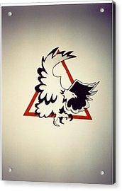 Eagle  Acrylic Print by Val Oconnor