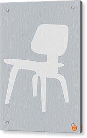 Eames Plywood Chair Acrylic Print by Naxart Studio