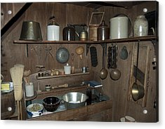 Early American Utensils Acrylic Print by Michael Peychich