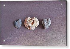 Earth's Hearts Acrylic Print by Elena Kolotusha