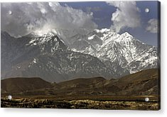 Eastern Afghanistans White Mountains Acrylic Print by Everett