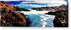 Ebbing Tide Acrylic Print by Phill Petrovic
