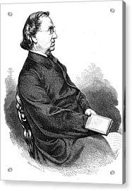 Eduard Moerike (1804-1875) Acrylic Print by Granger