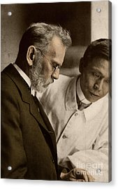 Ehrlich And Hata, Discoverers Acrylic Print by Science Source