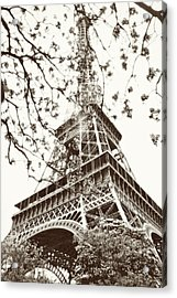 Eiffel Fame Acrylic Print by Linde Townsend