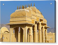 Elaborate Arch Structures In India Acrylic Print by Inti St. Clair