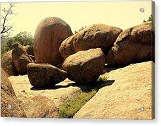 Elaphant Rocks 4 Acrylic Print by Marty Koch