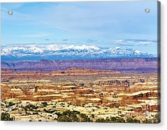Elecidations Of Echelons Of Epochs Acrylic Print by Scotts Scapes