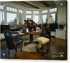 Elegant Sitting Room Acrylic Print by Robert Pisano