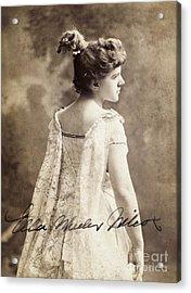 Ella Wheeler Wilcox Acrylic Print by Granger