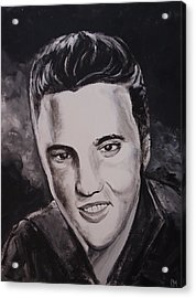 Elvis Acrylic Print by Pete Maier